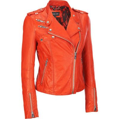 I tried this jacket on and almost cried. It was a perfect fit....PERFECT! Black Rivet Rock-n-Roll Leather Cycle Jacket