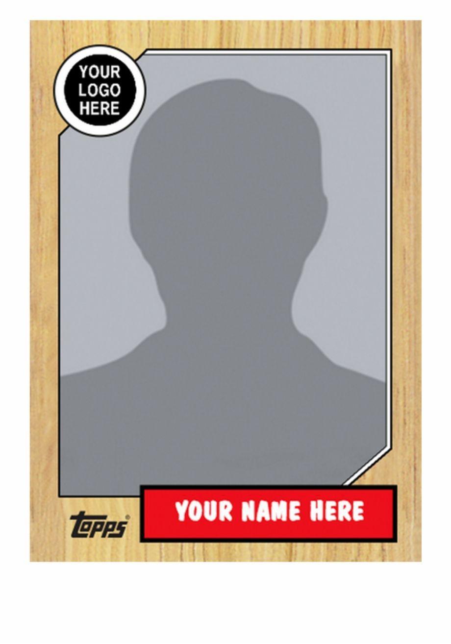 Baseball Card Template Trading Card Template Baseball Card Template Card Templates