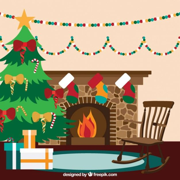 Christmas Living Room Interior With A Fireplace Christmas Art Projects Outdoor Christmas Decorations Christmas Living Rooms
