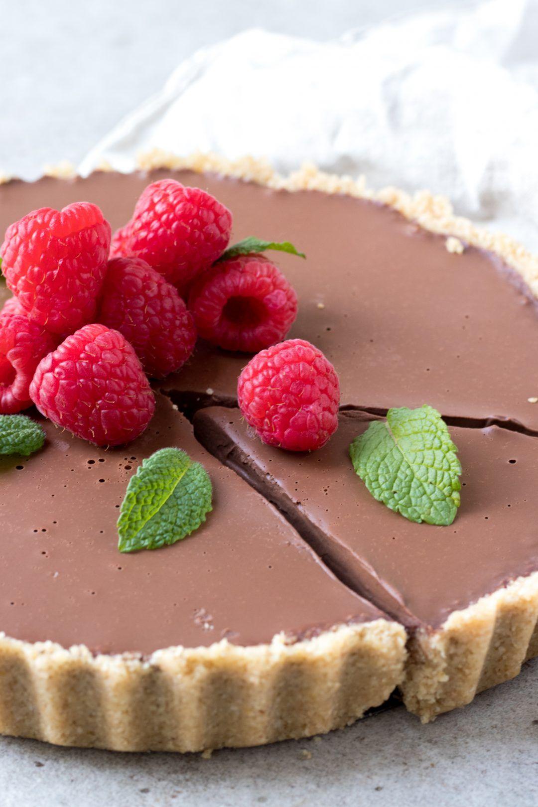 Gezonde chocoladetaart - Zonderzooi - Gezonde recepten - Duurzame lifestyle