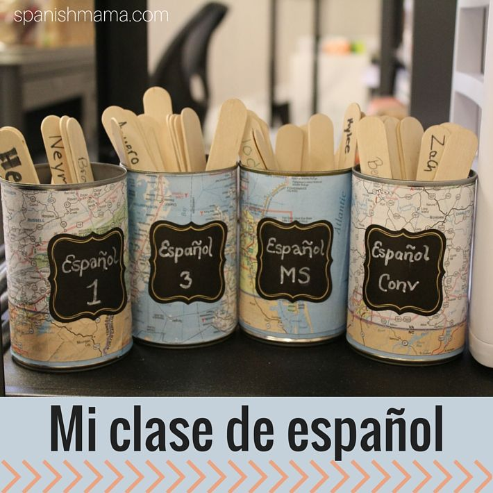 Spanish Classroom Decoration Ideas : My spanish classroom middle school