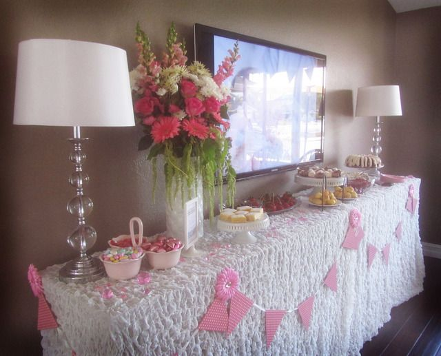 Pink And More Pink Sip See Open House Baby Shower Party Ideas