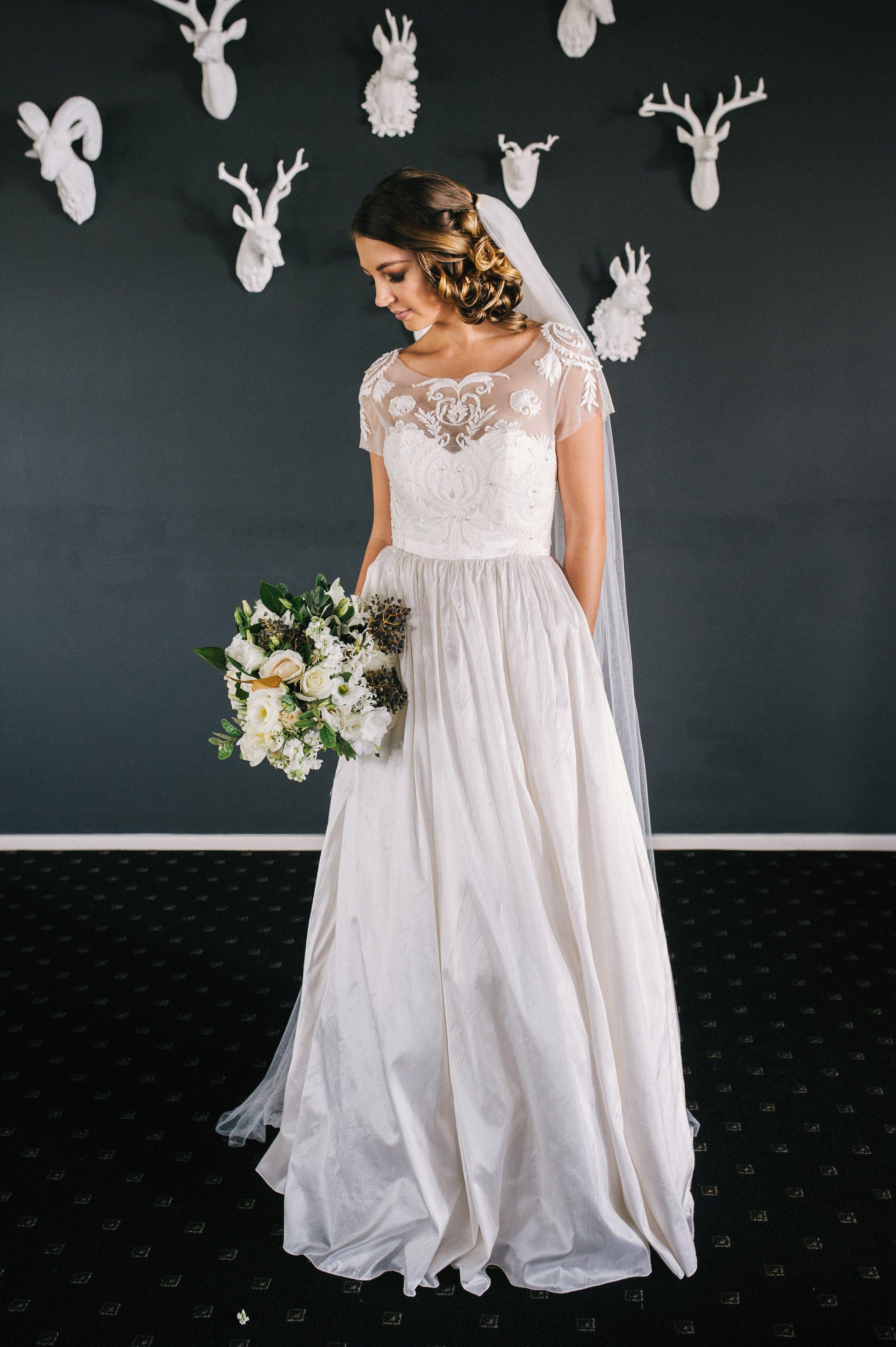 Left Column Column Wedding Dress Wedding Dresses Brisbane