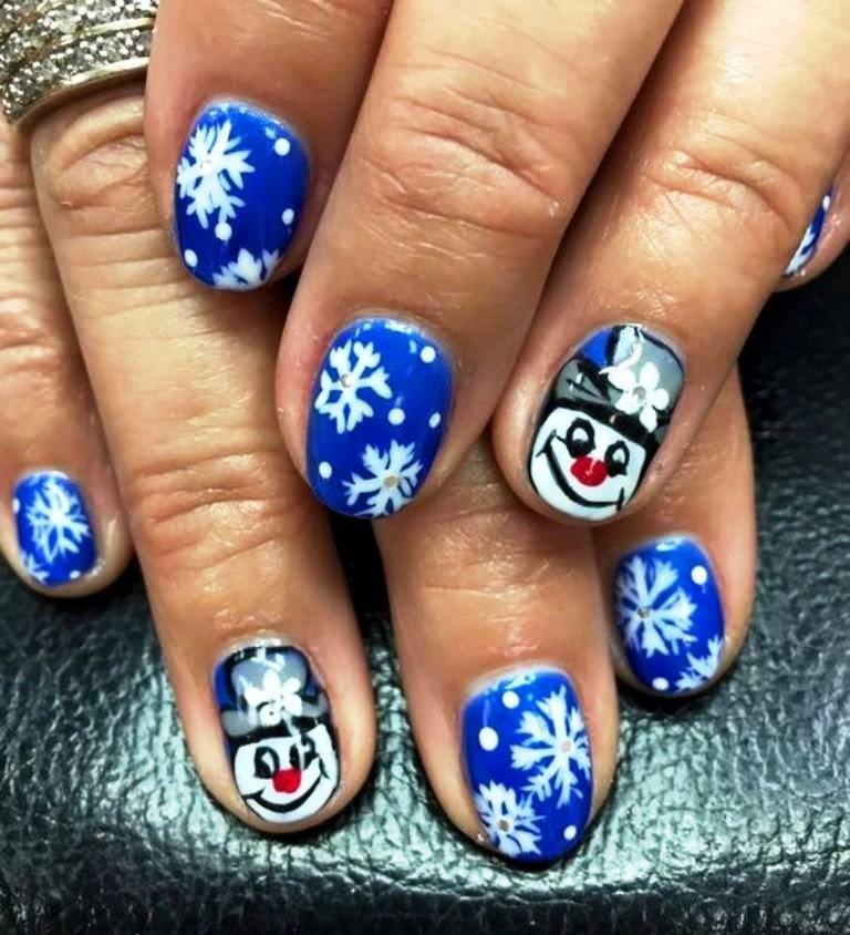 Awesome Winter Design Nails Ornament - Nail Art Ideas - morihati.com