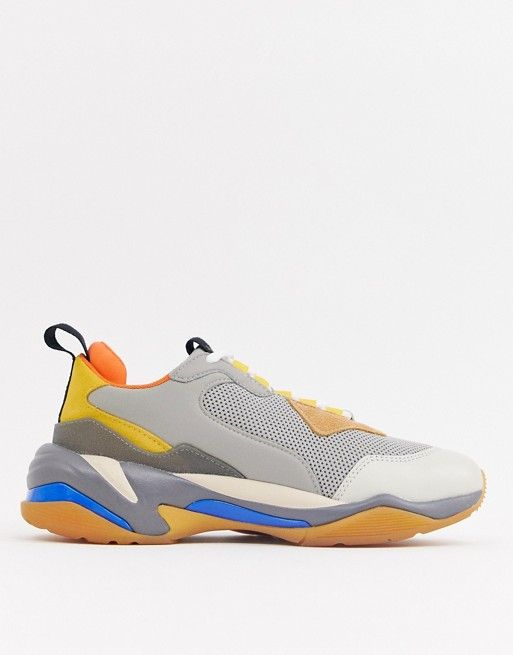 LEATHER THUNDER SPECTRA SNEAKERS SS19
