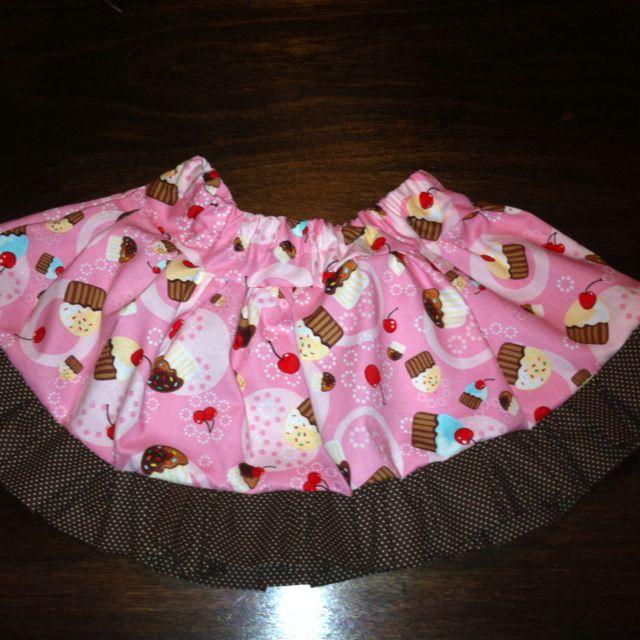 My first twirl skirt