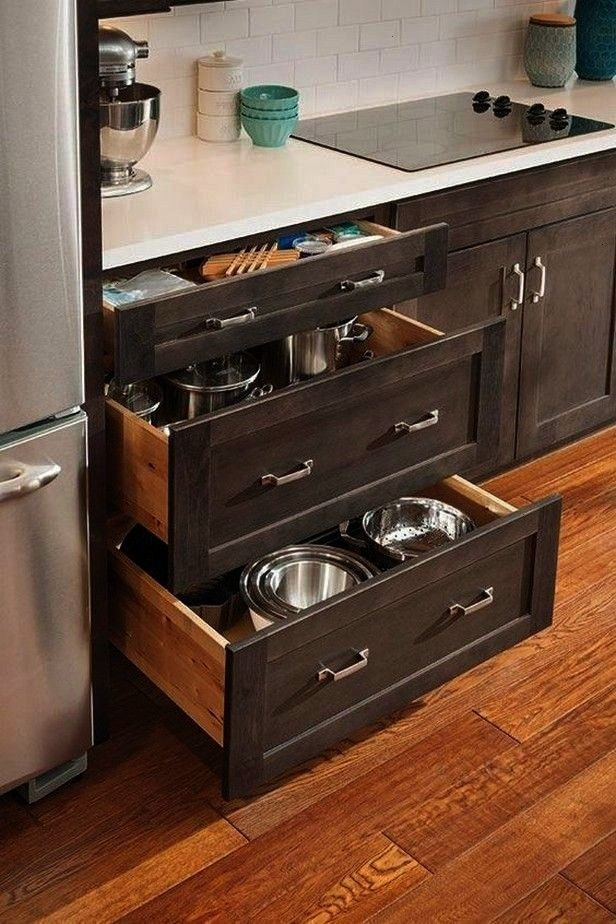 ideas for DIY kitchen cabinet organization 832 clever ideas for DIY kitchen cabinet organization 8 Kitchen dreams FH18DJF58355026 install the container storage cabinet ro...
