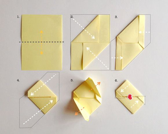 How To Fold A Simple Origami Valentine