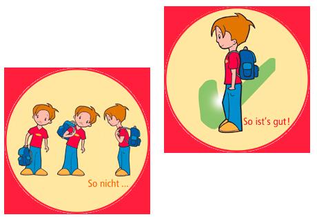 Nackenschmerzen bei Kindern durch den Schulranzen