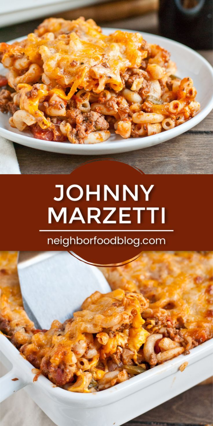 Johnny Marzetti Is A Classic Pasta Casserole Recipe That Feeds A Crowd We Love This C In 2020 Ground Beef Casserole Recipes Pasta Casserole Recipes Easy Pasta Recipes