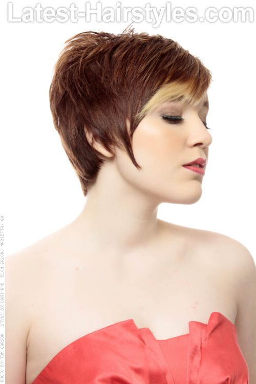 Long Pixie Hairstyle Side Hair Pinterest Long Pixie - Classic pixie hairstyle