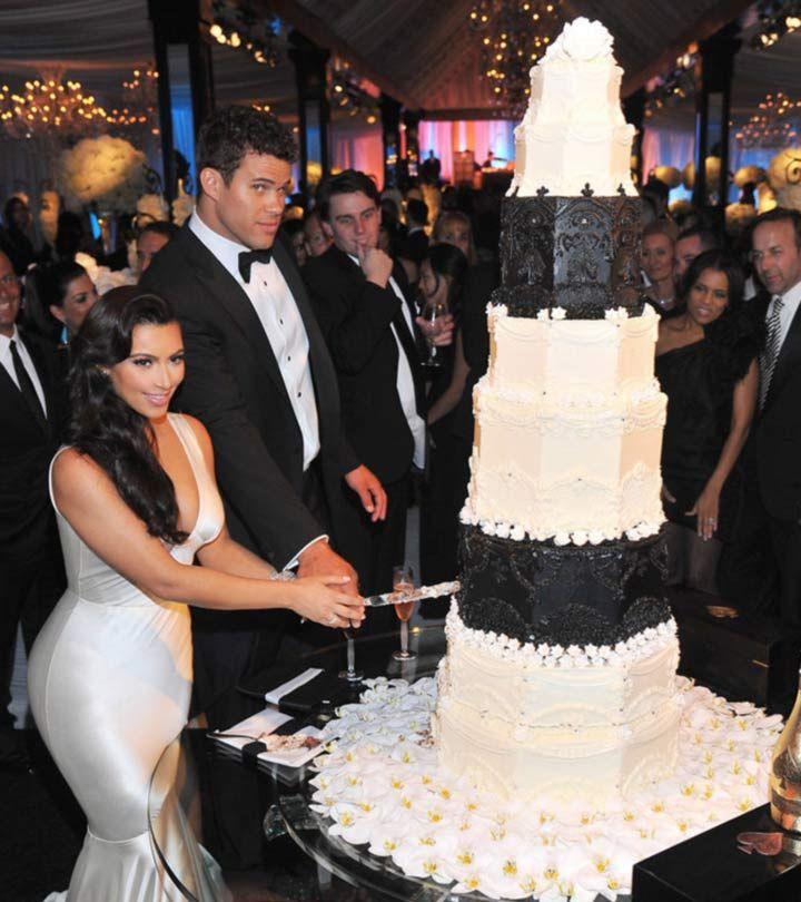 Celebrity Wedding Cakes As Cool As The Stars Wedding Dress Cake