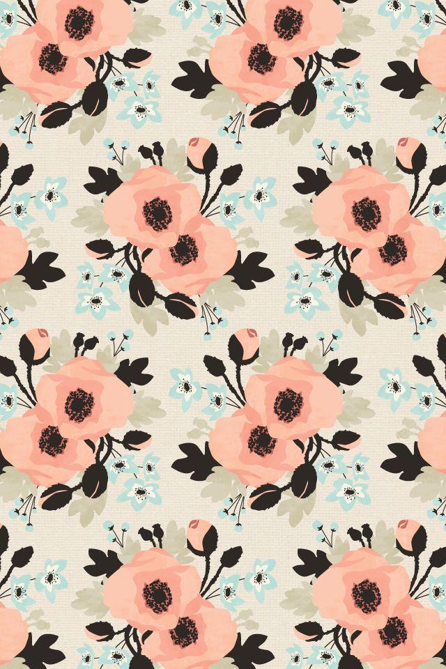 Free Floral Desktop IPad IPhone Wallpaper From Eine Kleine Design Studio