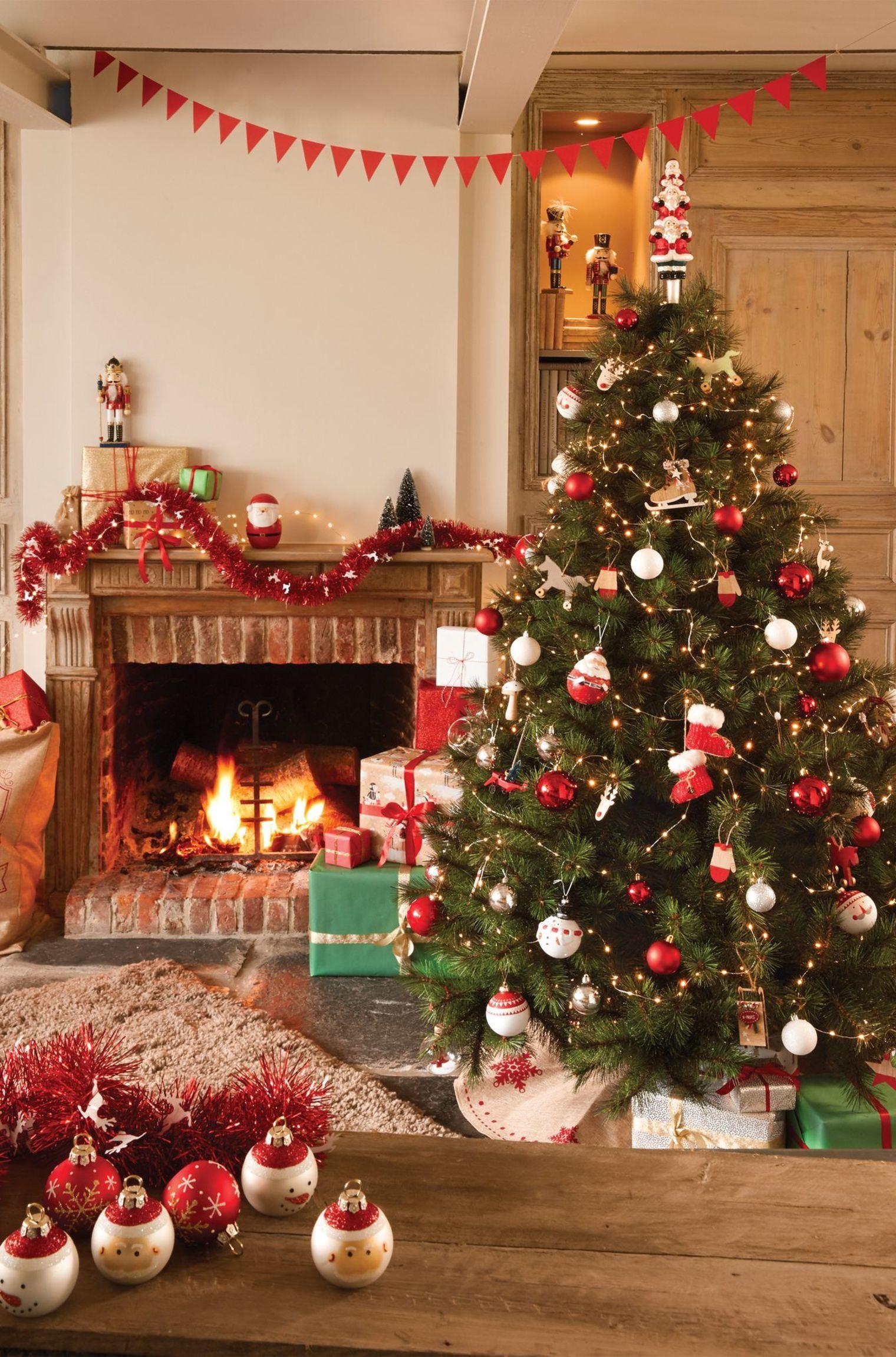 Sapin De Noel Decoration Traditionnelle sapin artificiel : de faux sapins séduisants | deco noel