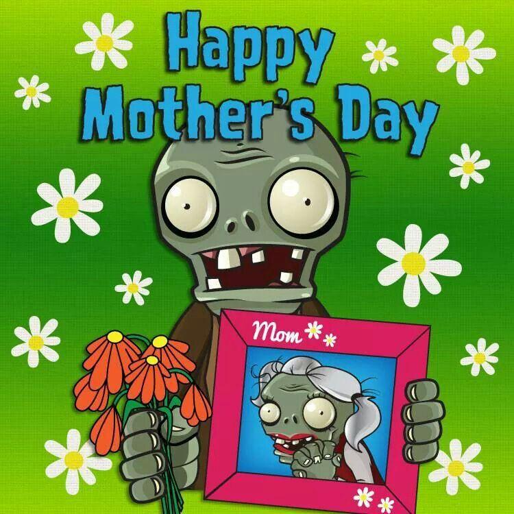 Happy Zombie Mommy Day Zombie Love