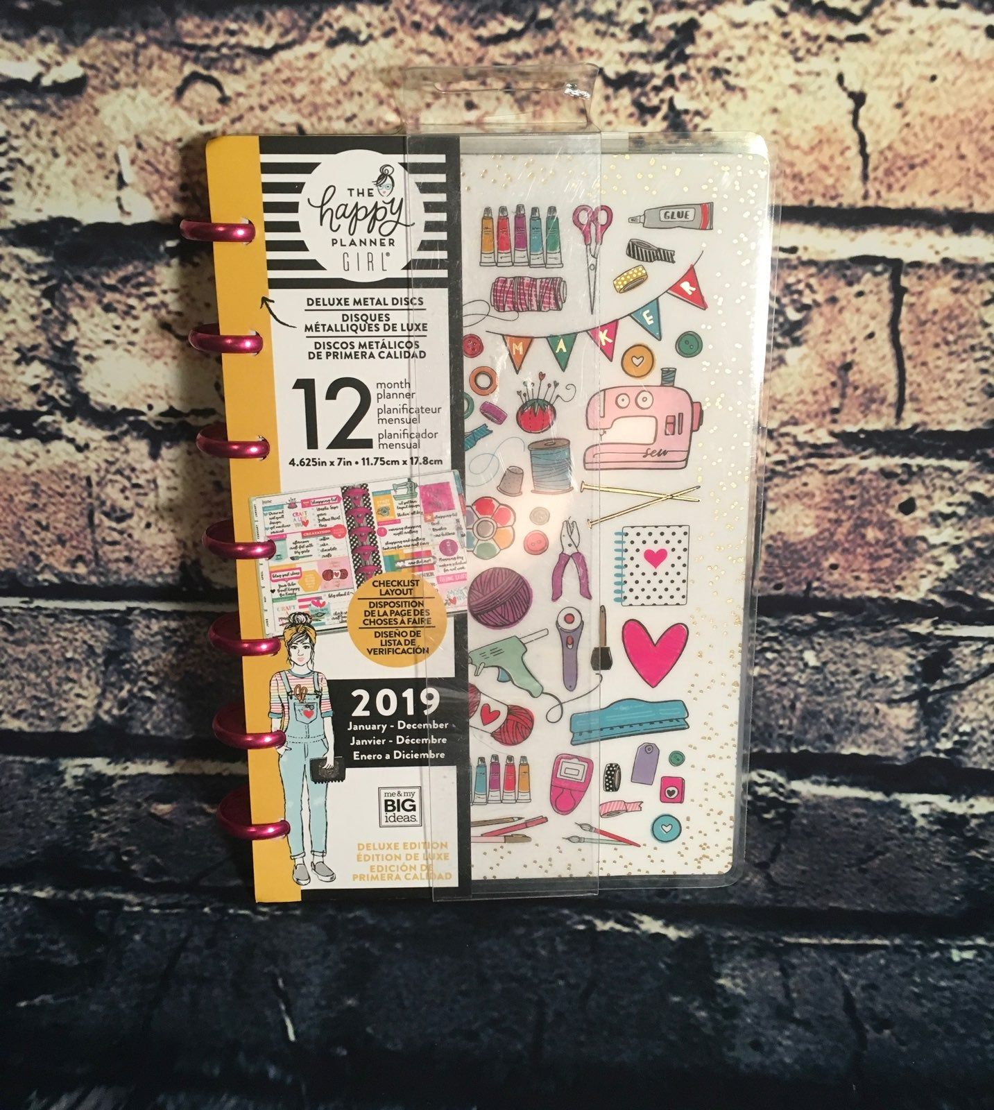 The Happy Planner Girl Miss Maker Mini Size Dashboards
