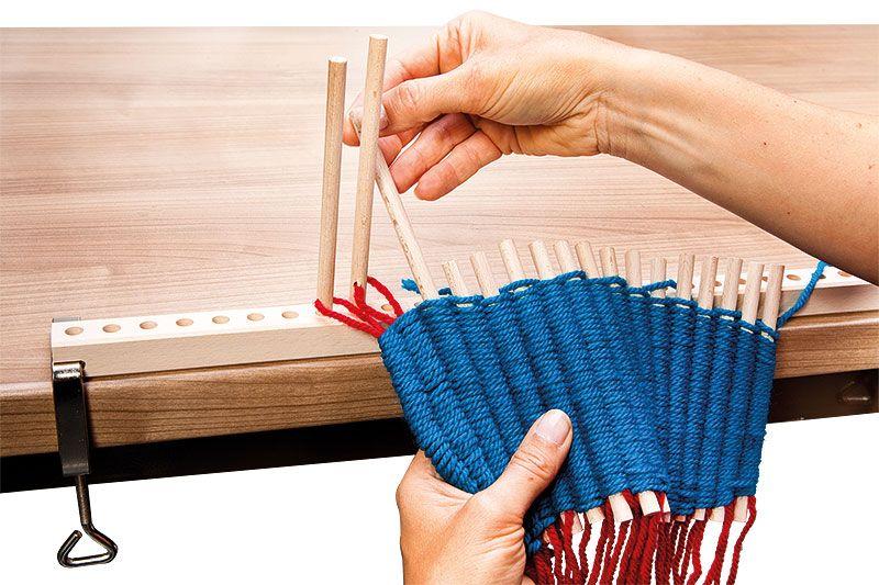 Produkt Tipp Weben Mit Dem Stabchen Webrahmen Wandteppich Weben Weben Webrahmen