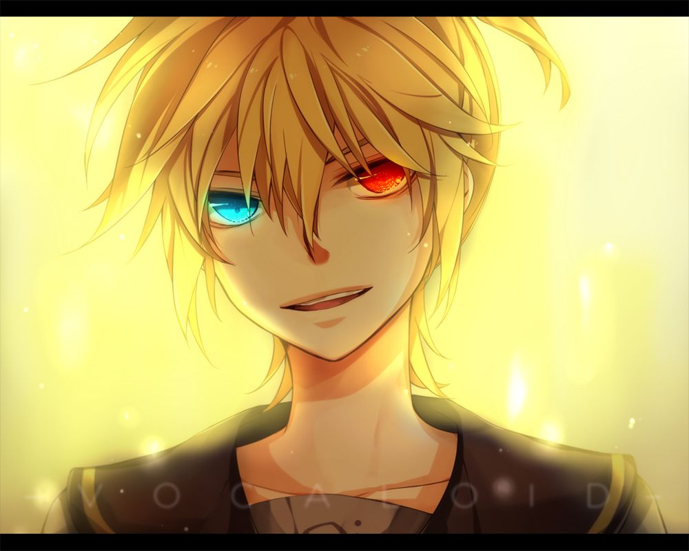 Anime Guy with Blonde Hair | Kagamine Len, anime ...