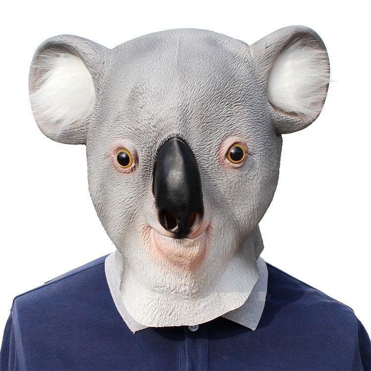Koala Masks Full Head for Party Cosplay Costume Halloween