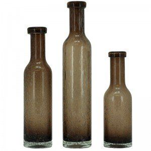 Set of 3 Fawn Kirsten Vases