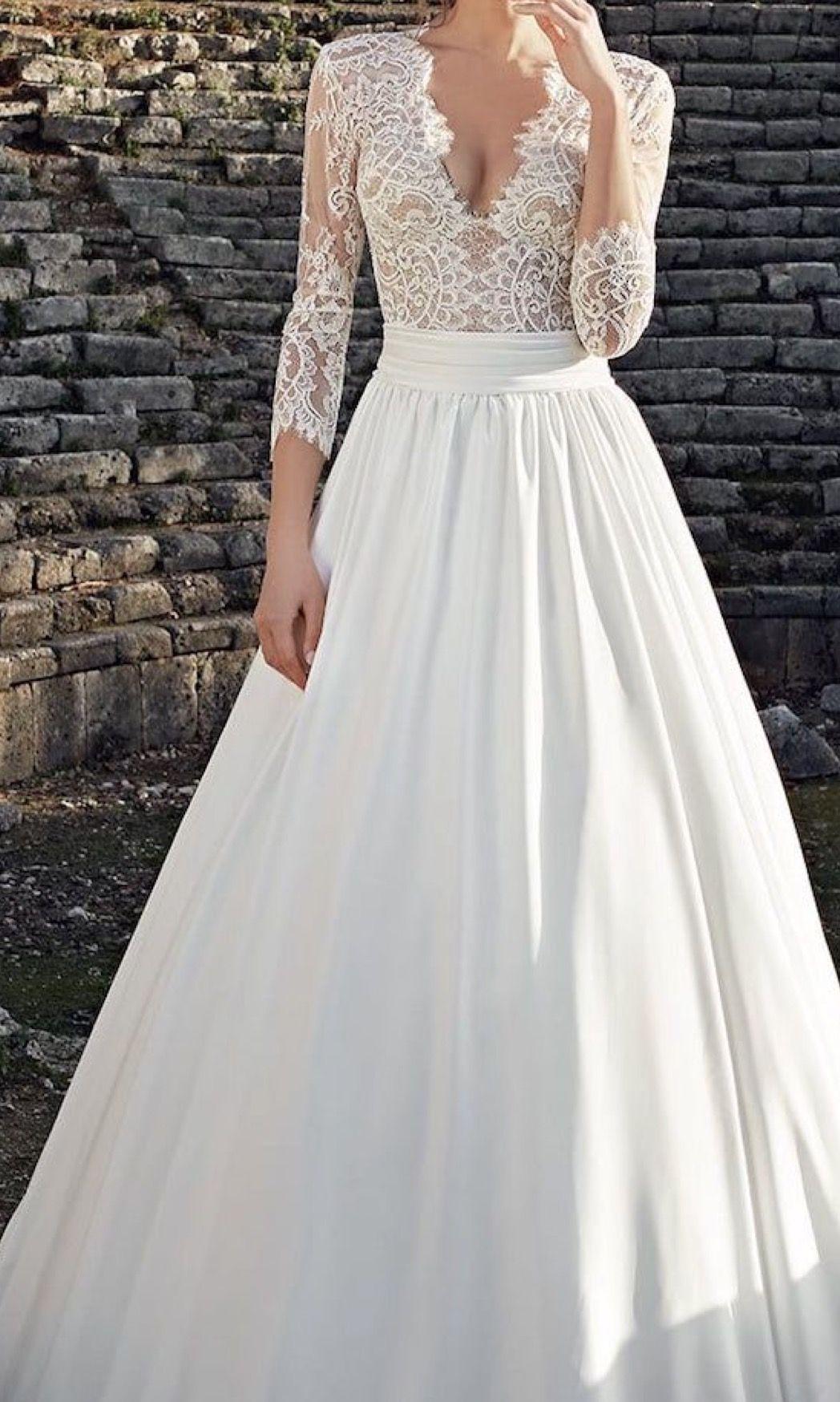 Pin by ulrika on brudklänningar pinterest wedding dress
