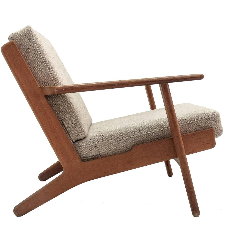 Hans J Wegner GE 290 Lounge Chair