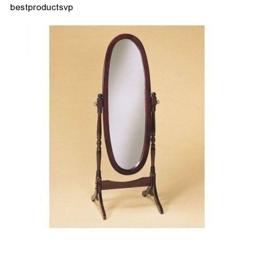 #Ebay #Free #Standing #Floor #Mirror #Wood #Antique # ...