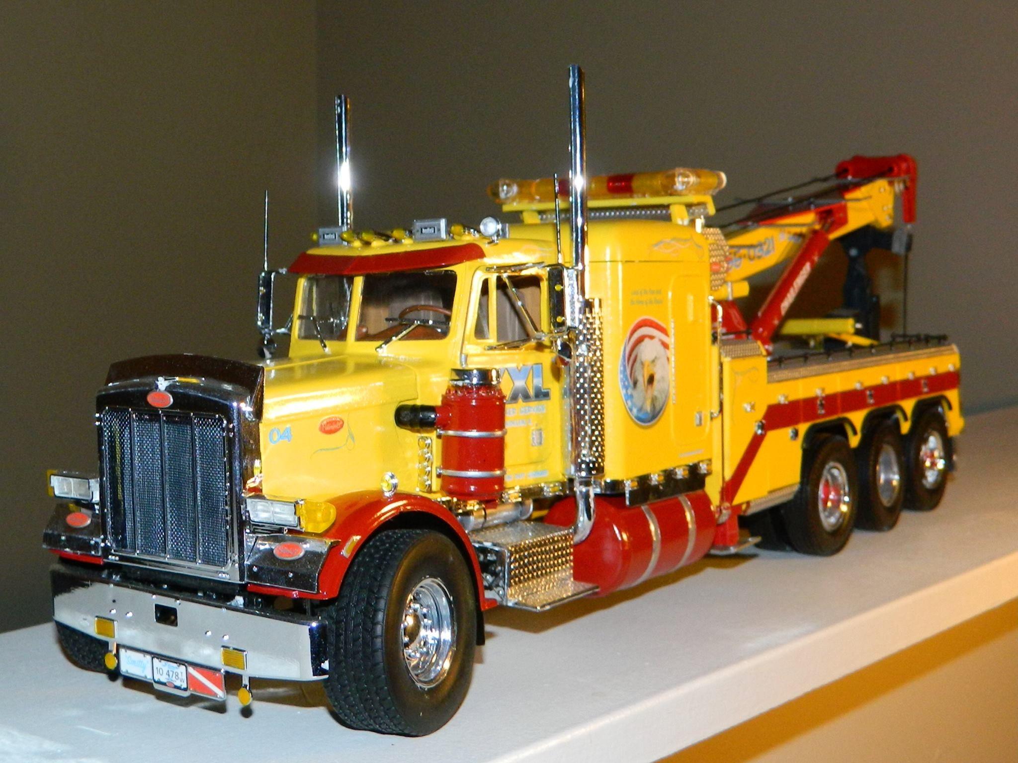 Revell Peterbilt 359 Conventional 1:16 Scale Model Truck ...  Peterbilt Model Car