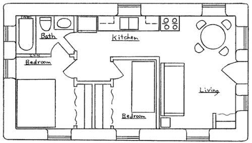 17 free house plans | Free house plans, Interior design ...