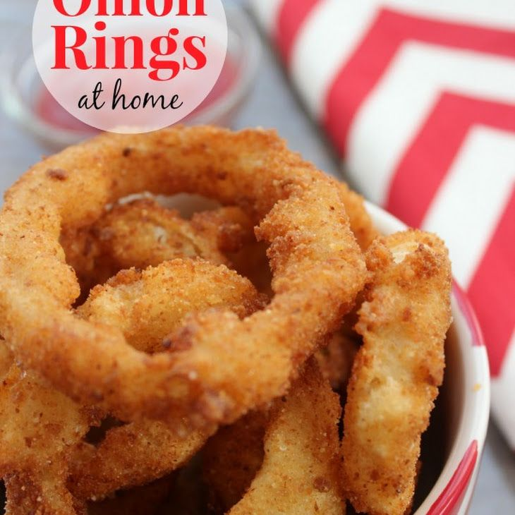 Homemade Onion Rings | Recipe in 2020 | Food, Food recipes ...