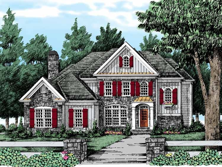 French Country House Plan With 3210 Square Feet And 5 Bedrooms From Dream Home Source House Plan Code Dhsw38765 In 2019 French Country House Plans Country Style House Plans House Plans