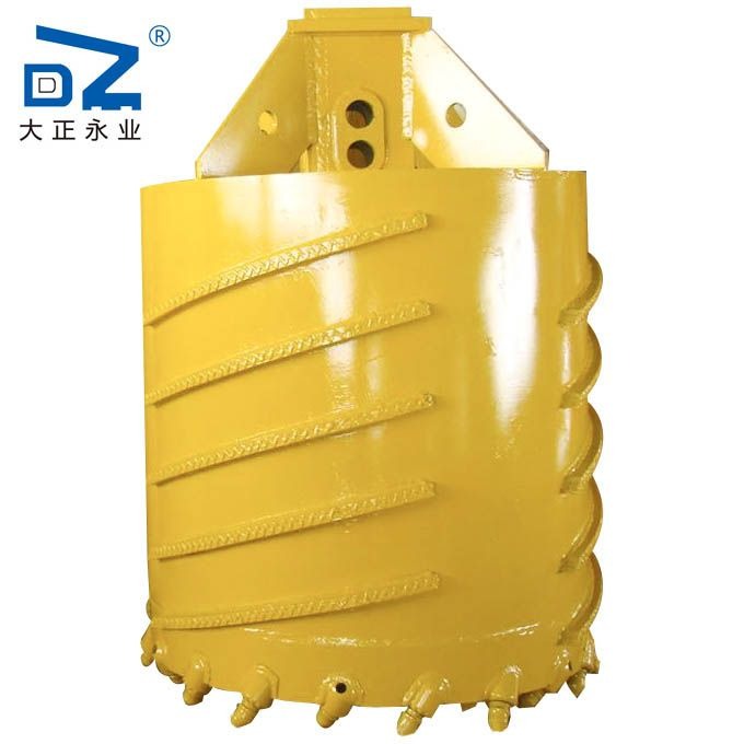 rock core drilling bucket