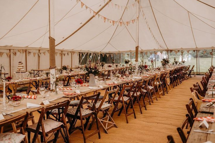 VINTAGE MARQUEE WEDDING WITH COUNTRY RUSTIC VIBES by Magpie Wedding Outdoor wed  Our Real Weddings