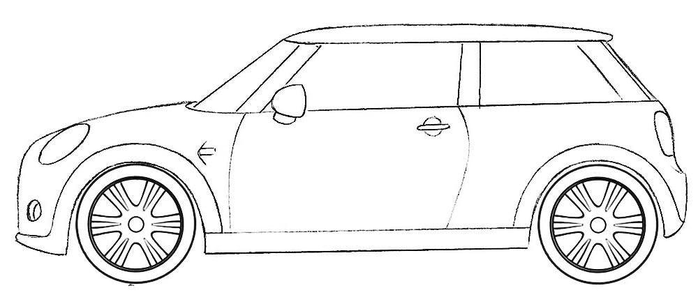 Mini Cooper Coloring Page Coloringpagez Com Coloring Pages Mini Cooper Cars Coloring Pages