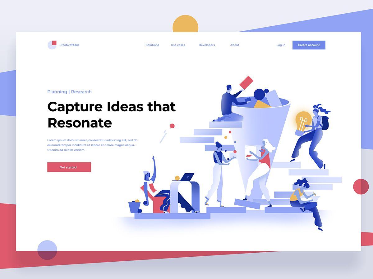 Idea Generator Web Layout Design Web Design Infographic Design Trends
