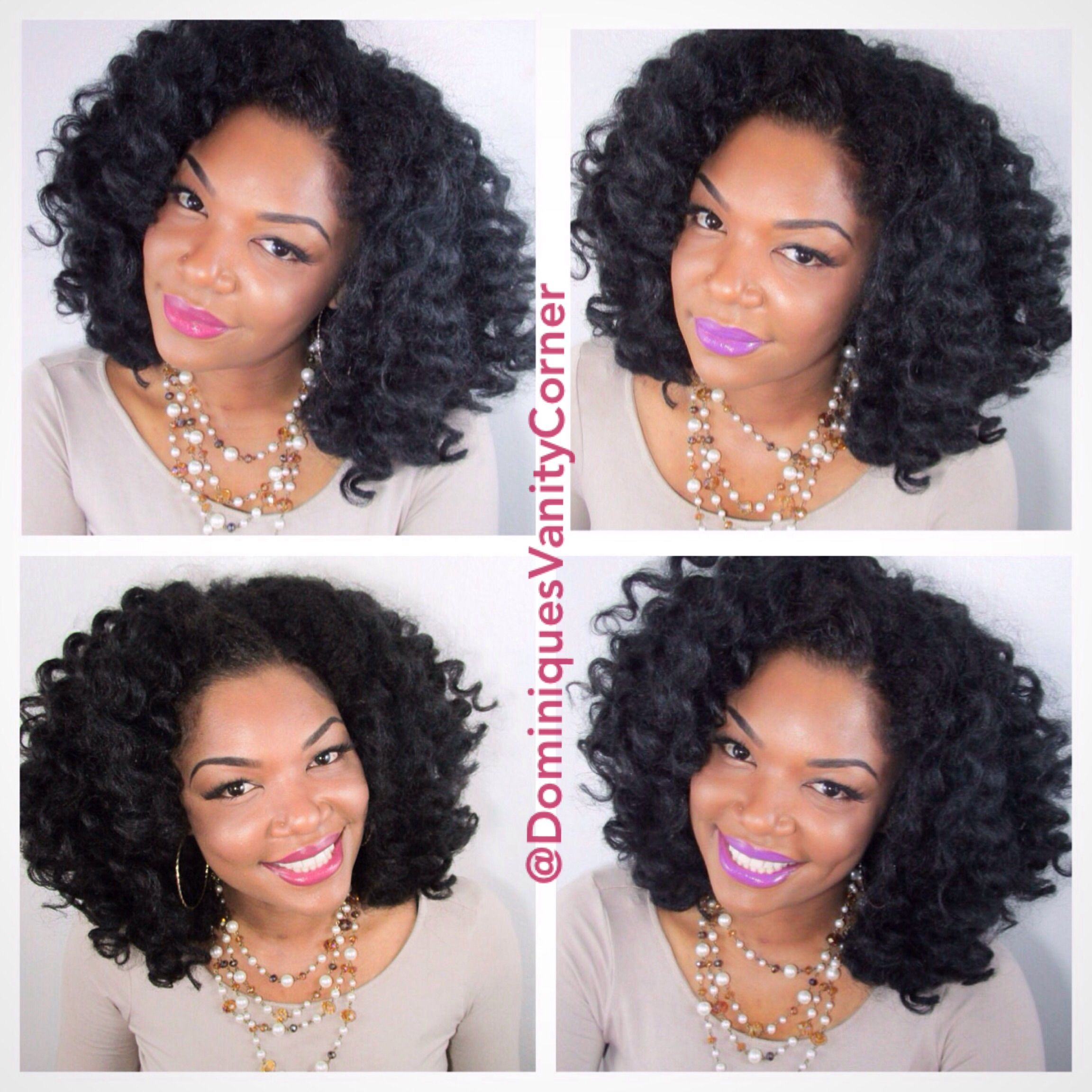Crochet Kinky Curly Wig d By Dominique Oliver