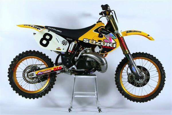 Gp S Classic Steel 78 1999 Works Suzuki Rm250 Pulpmx Suzuki Motocross Motocross Bikes Suzuki Dirt Bikes