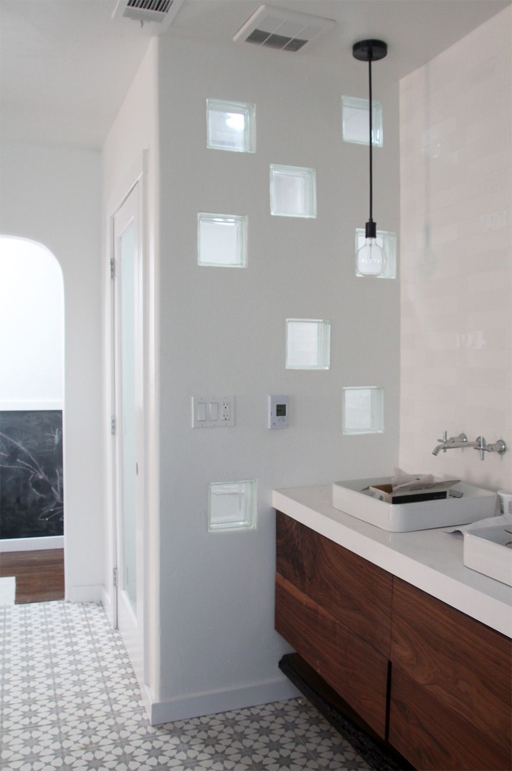 Master bedroom bathroom  Master Bedroom u Bathroom Remodel Week   Bathrooms  Pinterest
