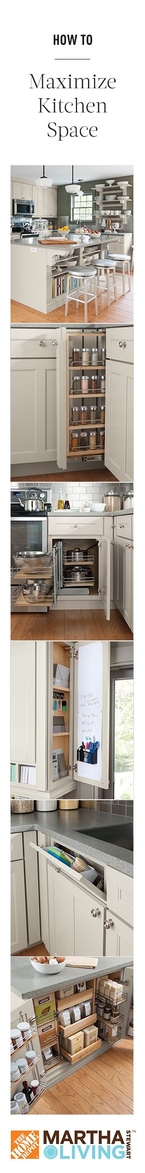 How to maximize kitchen space organization and storage Maximize kitchen storage