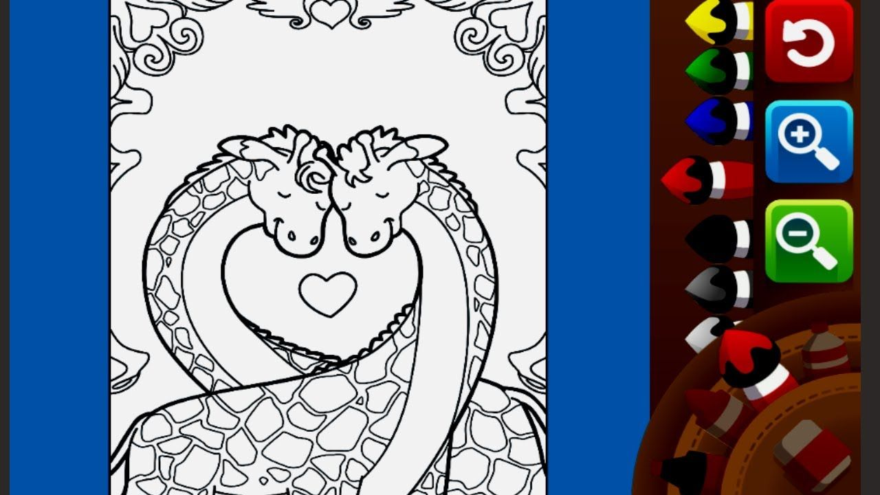 Lovely Giraffe Coloring Page for Kids | Giraffe coloring ...