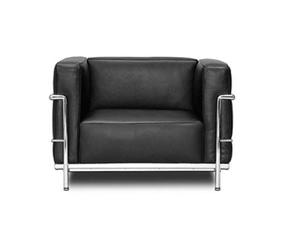 Lc3 Grand Modele 1928 Le Corbsuier Bauhaus Furniture Corbusier Chair Corbusier Furniture