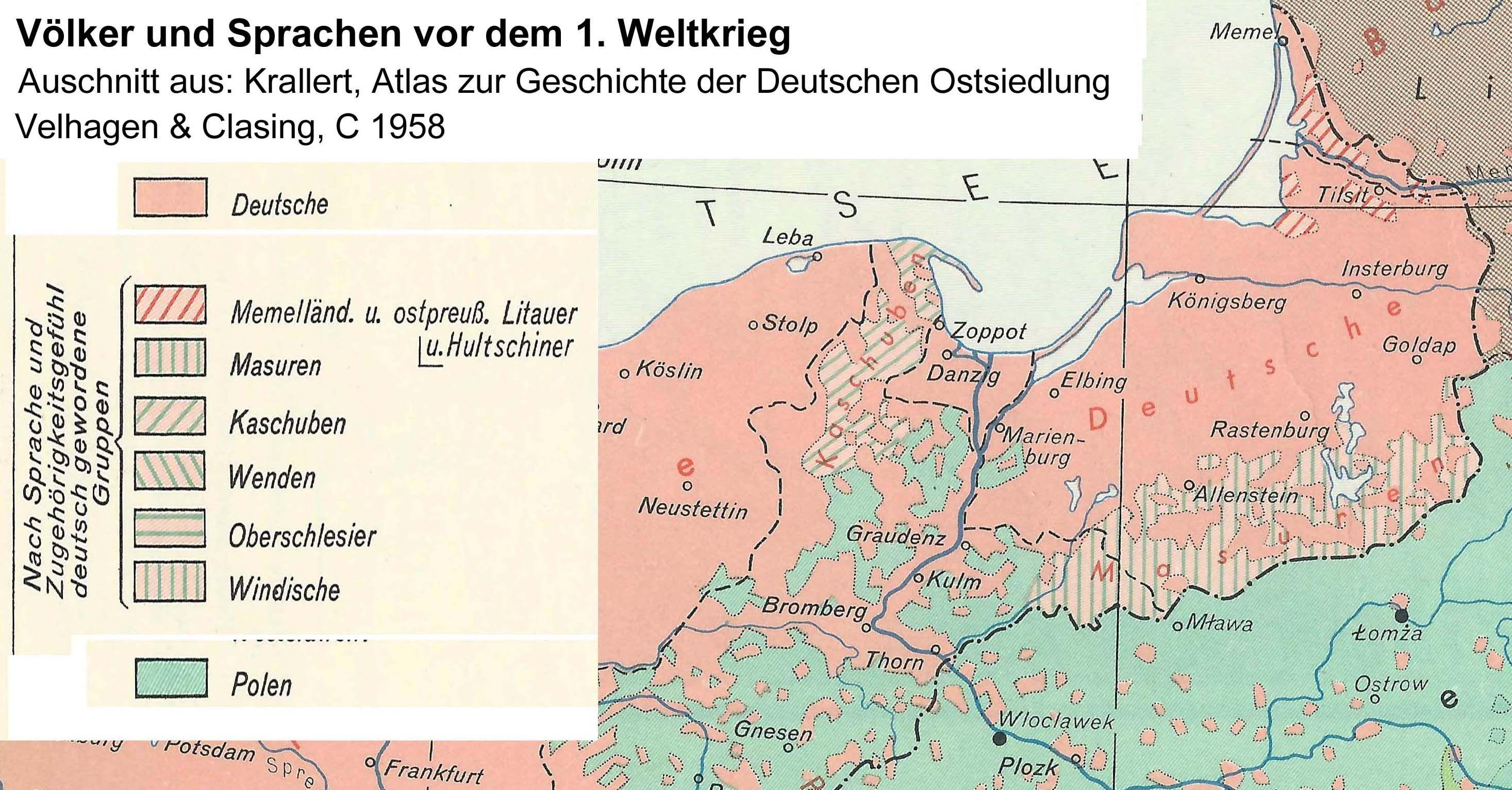 Deutsche Karte Vor Dem 1 Weltkrieg.Voelker Und Sprachen Vor Dem 1 Weltkrieg Illustrierte