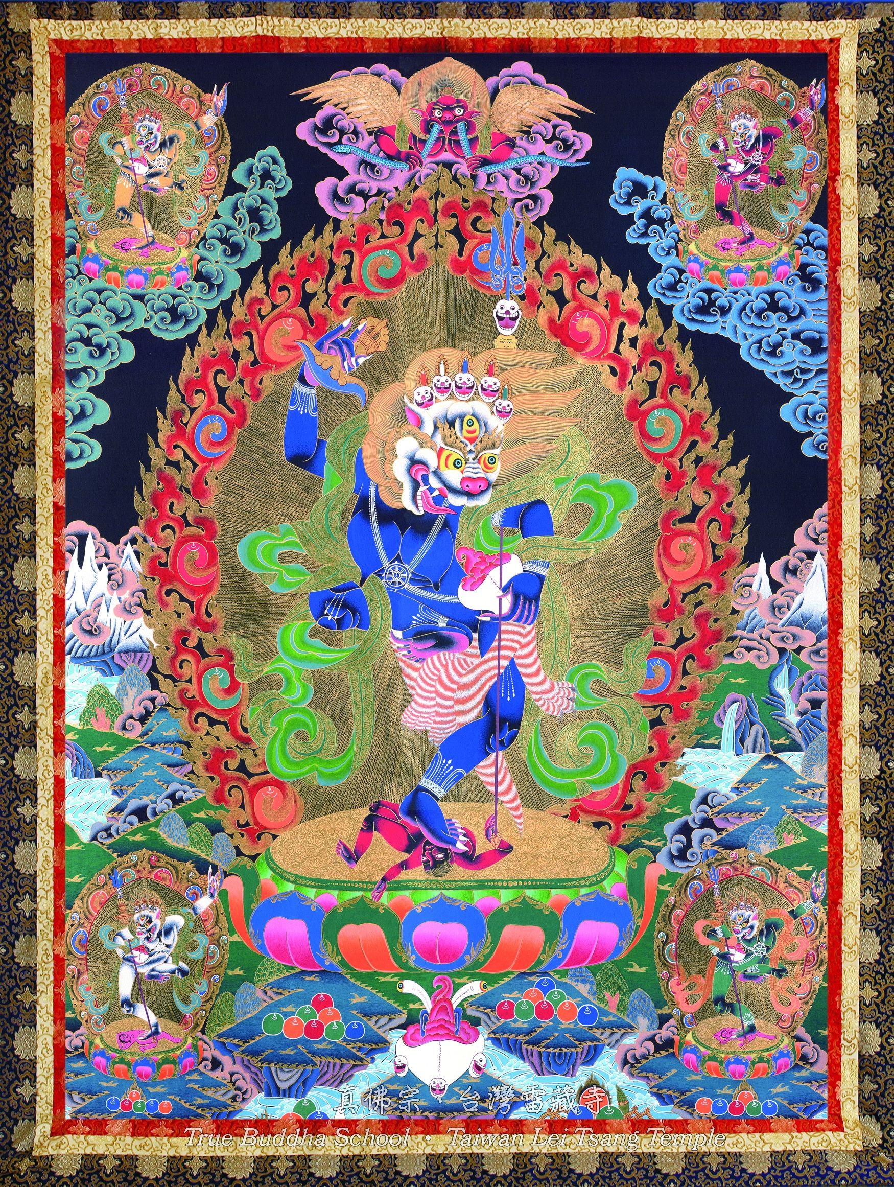 Simhavaktra Dakini   mystery, spirit in 2019   Buddhist art