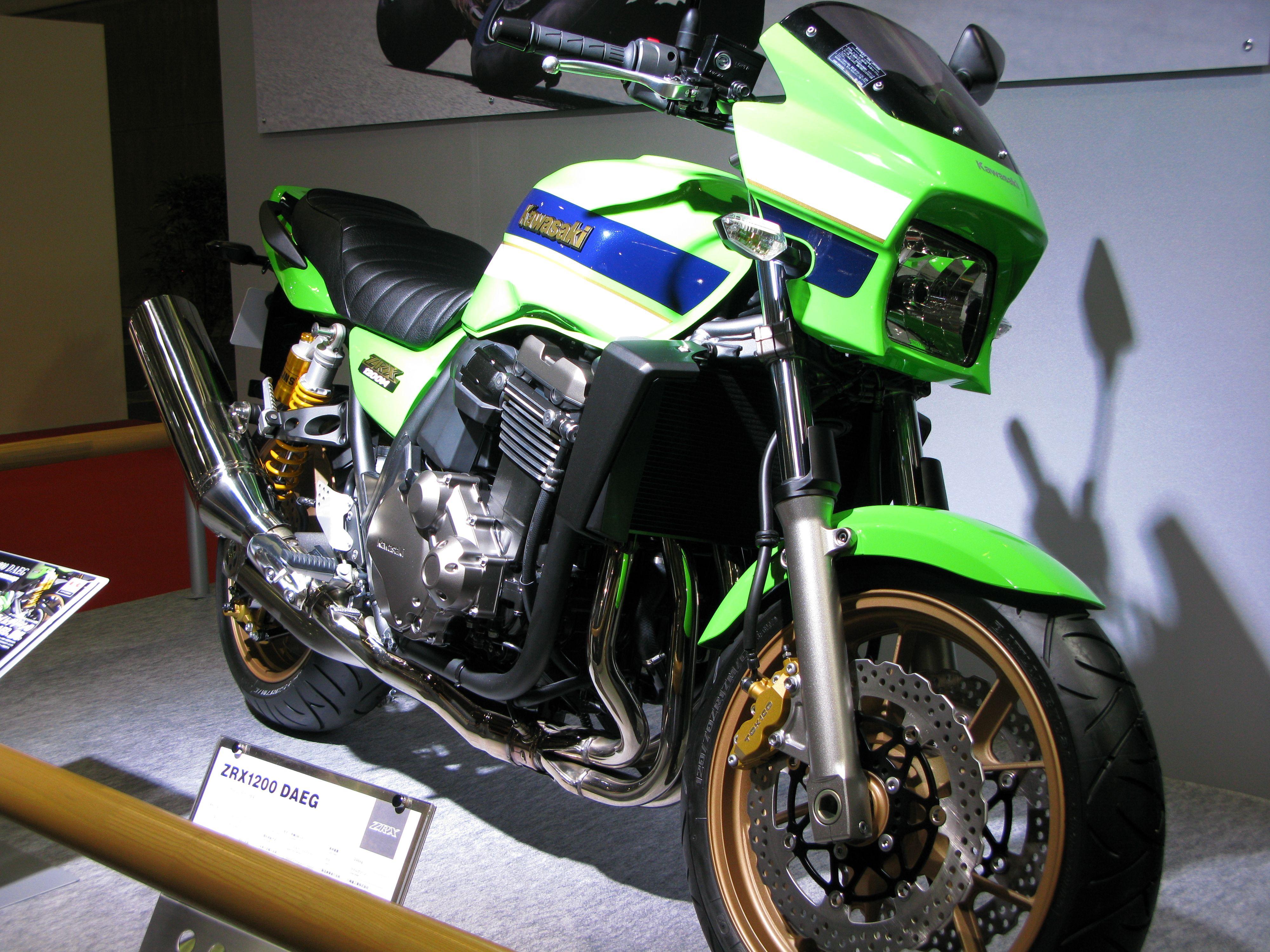 Kawasaki Zrx1200 Kawasaki Fast Bikes Bike