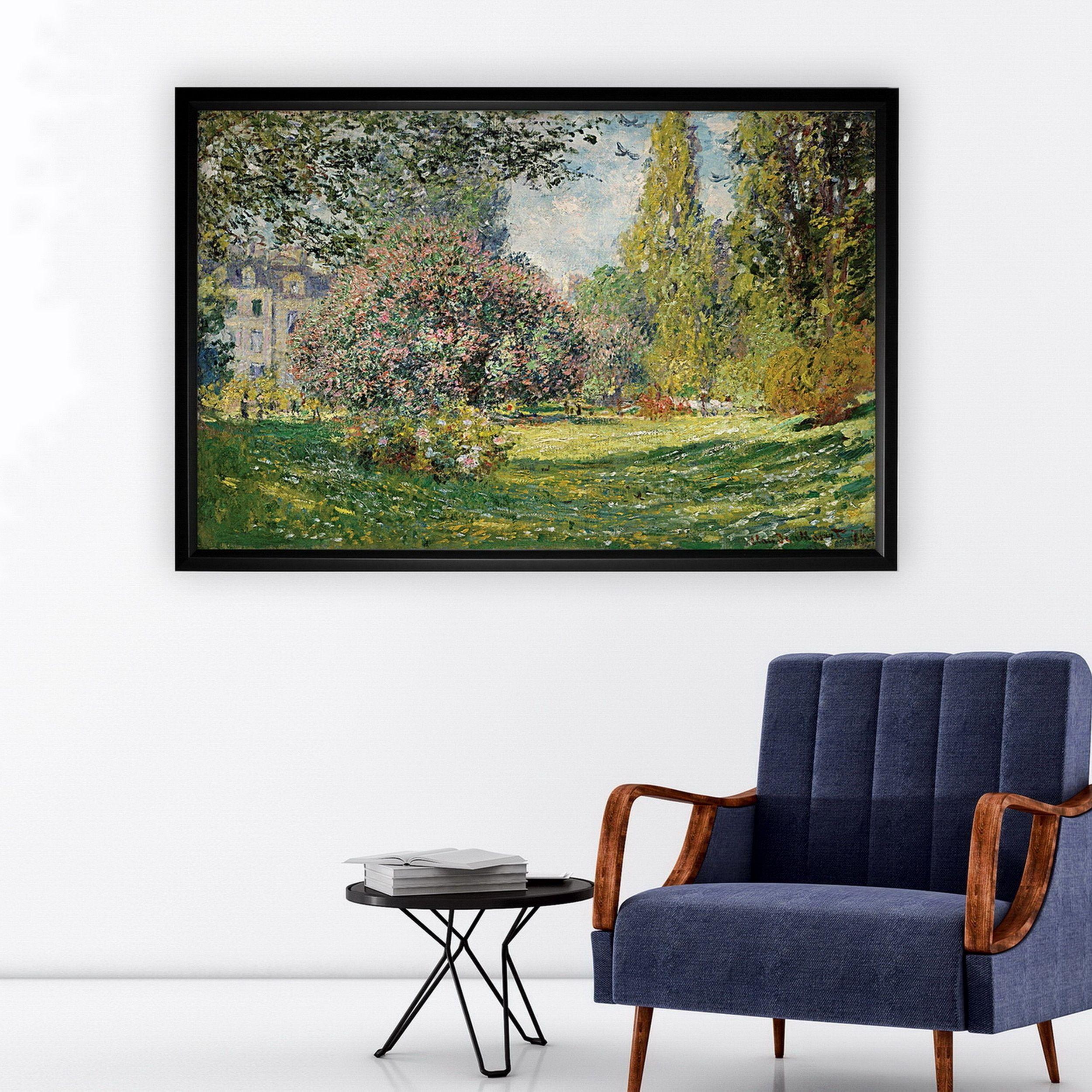 Parc monceau paris black frame by wexford home online art