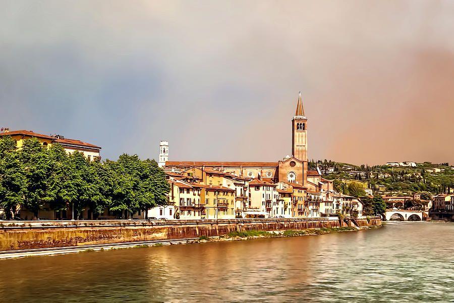 Adige River Photograph