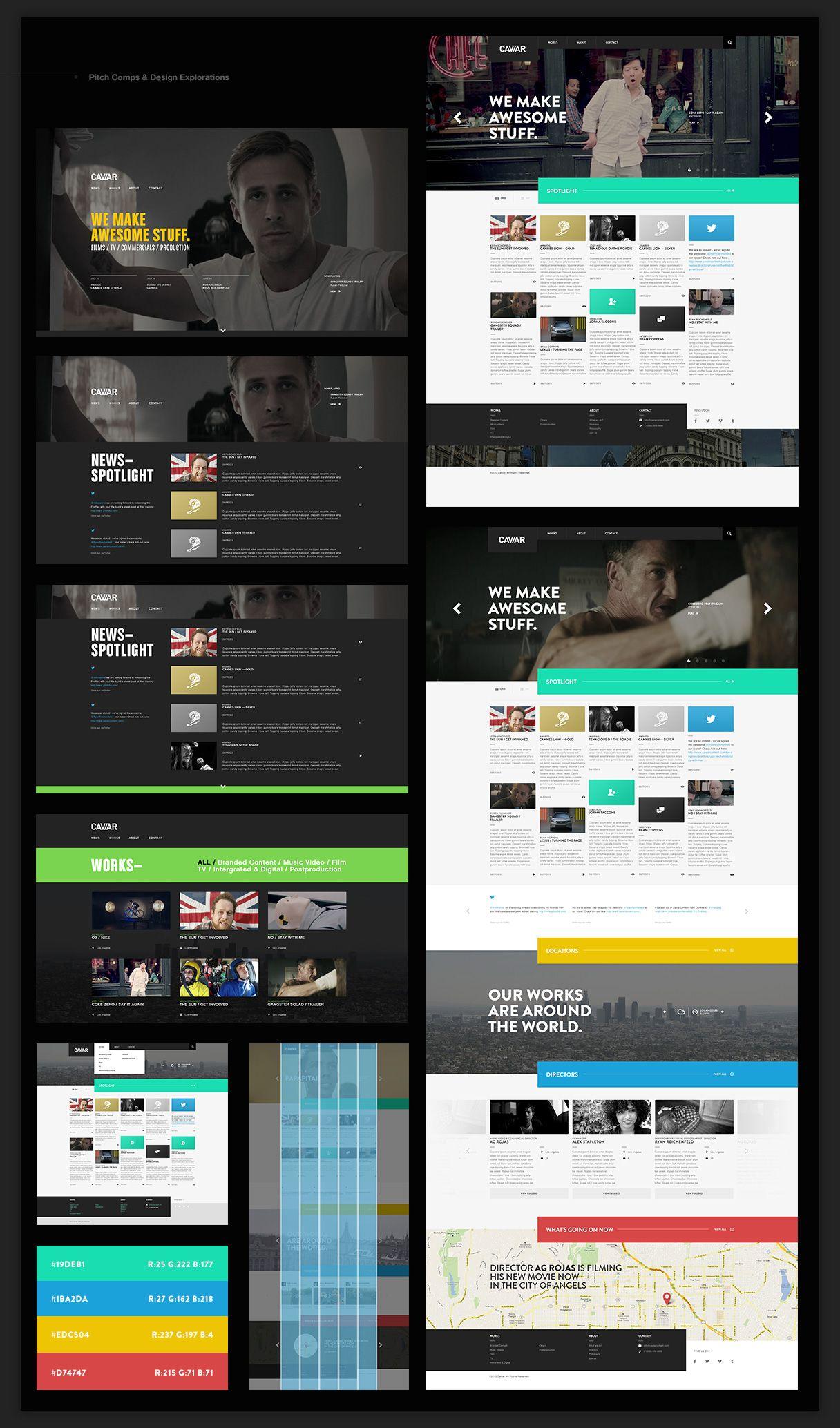 Cw Design Art Direction Website Design Art