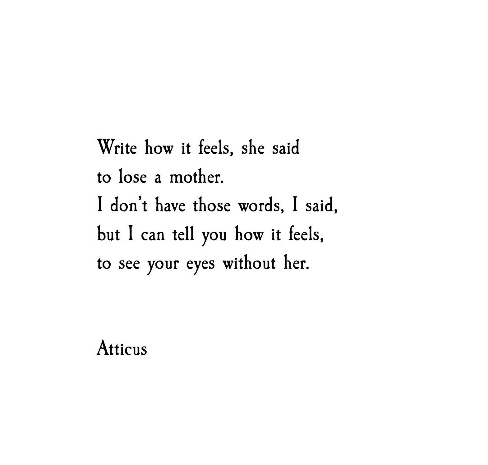 'Without Her' @Atticuspoetry  Appreciate who you have.