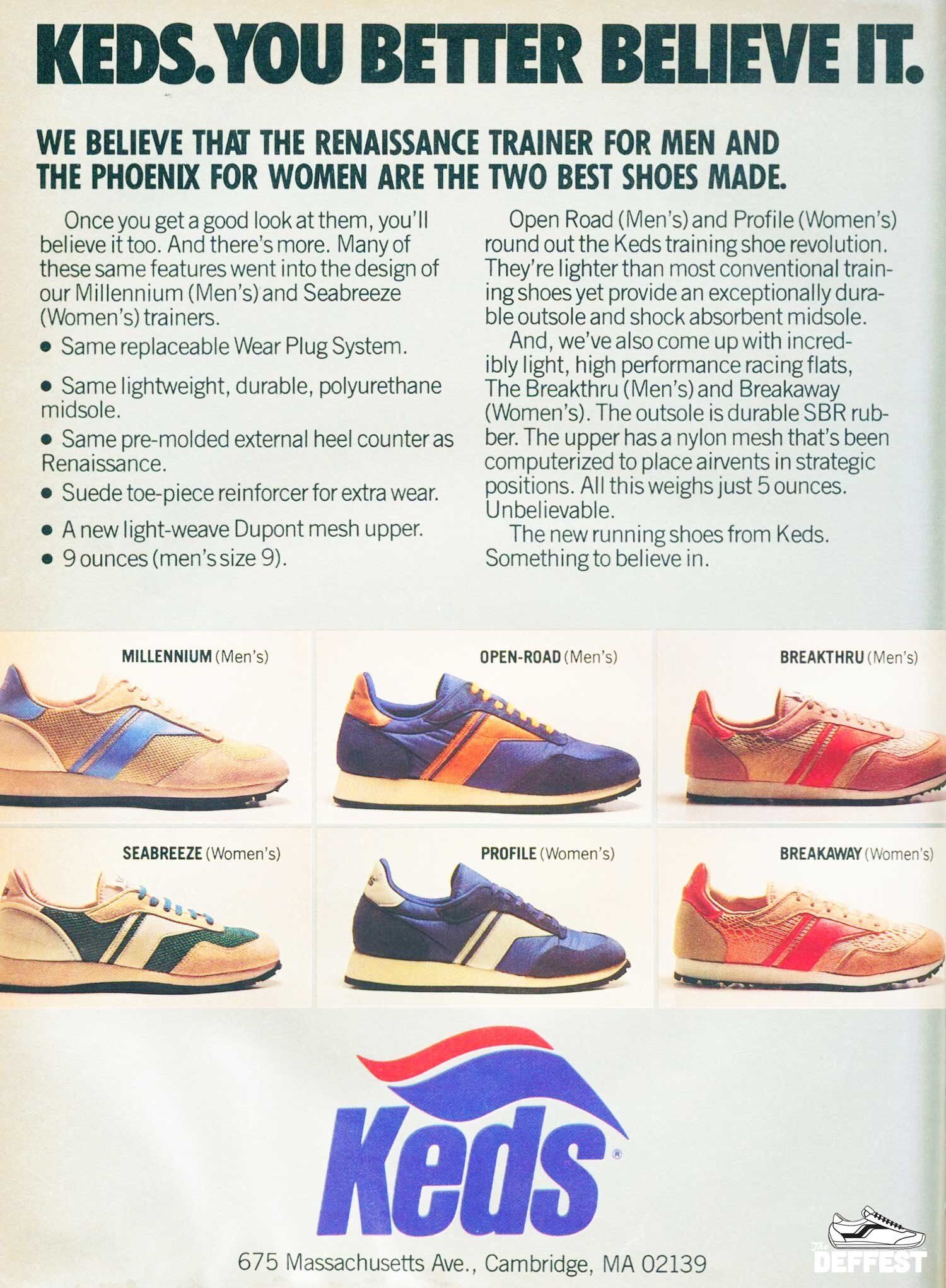 Keds 1980 vintage sneakers @ The
