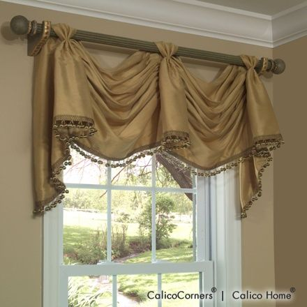 Victory Swag Valance In Roma Sand I Have This And The Matching